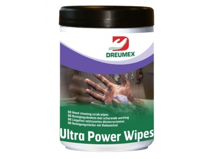 Dreumex Ultra Power Wipes, pot a 90 doekjes