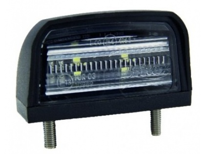 Kentekenlamp led 12/24V