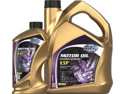 Motor oil Premium synthetic ESP