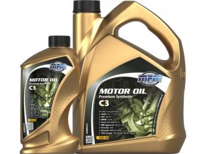 Motor oil Premium synthetic C3